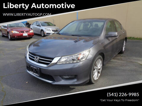 2014 Honda Accord for sale at Liberty Automotive in Grants Pass OR