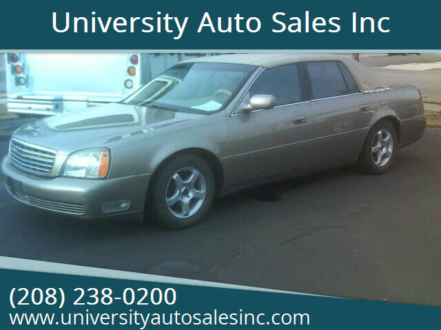 2003 Cadillac DeVille for sale at University Auto Sales Inc in Pocatello ID