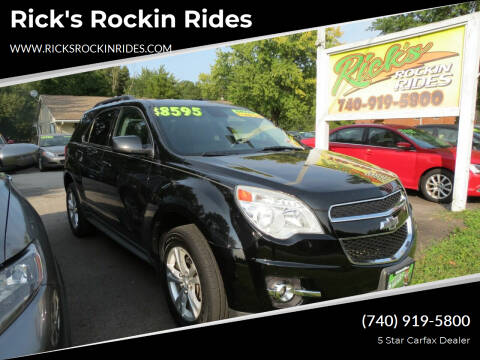 2014 Chevrolet Equinox for sale at Rick's Rockin Rides in Reynoldsburg OH