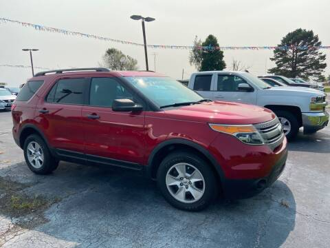 2013 Ford Explorer for sale at EAGLE ONE AUTO SALES in Leesburg OH