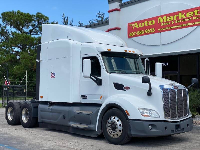 2016 Peterbilt 579 for sale at The Auto Market Sales & Services Inc. in Orlando FL