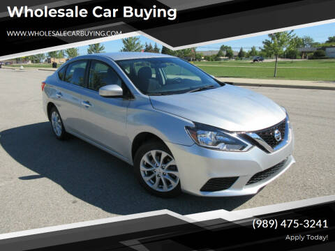 2019 Nissan Sentra for sale at Wholesale Car Buying in Saginaw MI