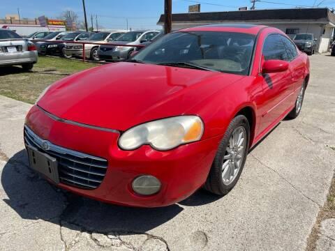 2003 Chrysler Sebring for sale at Texas Select Autos LLC in Mckinney TX