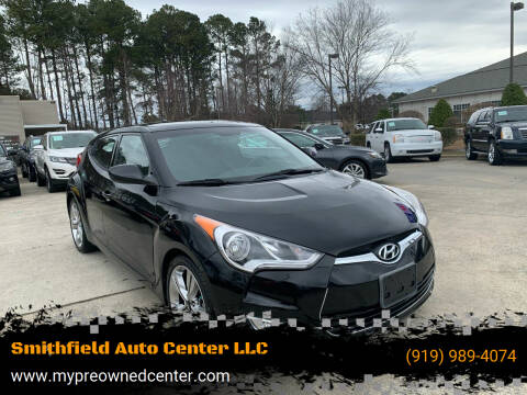 2017 Hyundai Veloster for sale at Smithfield Auto Center LLC in Smithfield NC