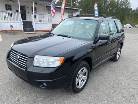 2006 Subaru Forester for sale at CVC AUTO SALES in Durham NC