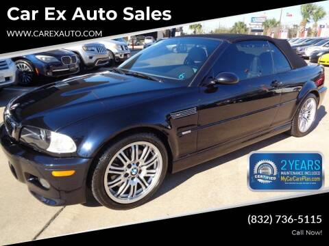 2001 BMW M3 for sale at Car Ex Auto Sales in Houston TX