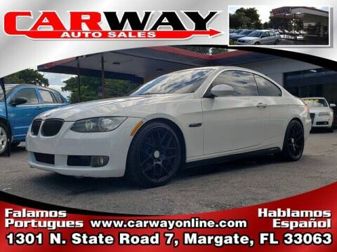 2007 BMW 3 Series for sale at CARWAY Auto Sales in Margate FL