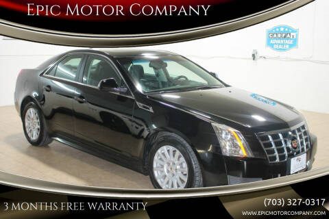 2013 Cadillac CTS for sale at Epic Motor Company in Chantilly VA