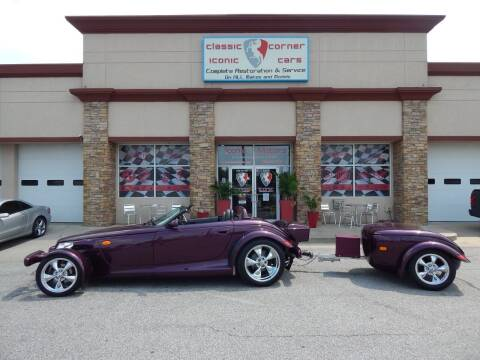 1999 Plymouth Prowler for sale at Iconic Motors of Oklahoma City, LLC in Oklahoma City OK