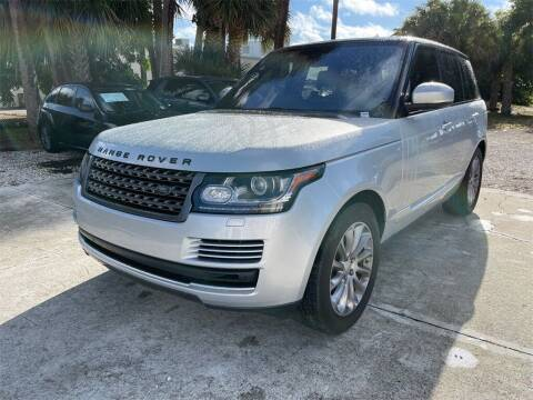 2016 Land Rover Range Rover for sale at Florida Fine Cars - West Palm Beach in West Palm Beach FL