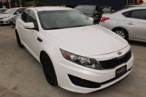 2011 Kia Optima for sale at Good Vibes Auto Sales in North Hollywood CA