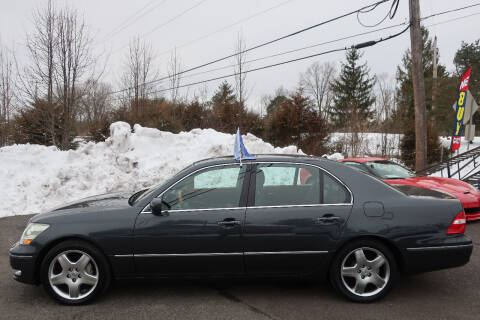 2005 Lexus LS 430 for sale at GEG Automotive in Gilbertsville PA