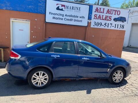 2009 Ford Focus for sale at Ali Auto Sales in Moline IL