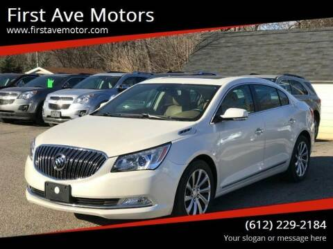 2014 Buick LaCrosse for sale at First Ave Motors in Shakopee MN
