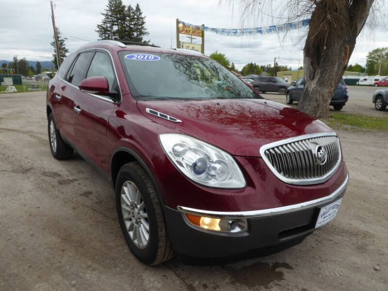 2010 Buick Enclave for sale at VALLEY MOTORS in Kalispell MT