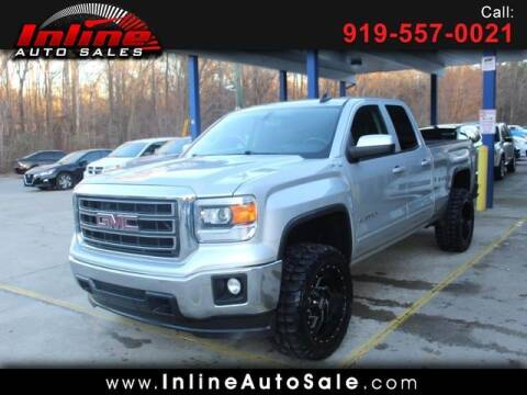 2015 GMC Sierra 1500 for sale at Inline Auto Sales in Fuquay Varina NC