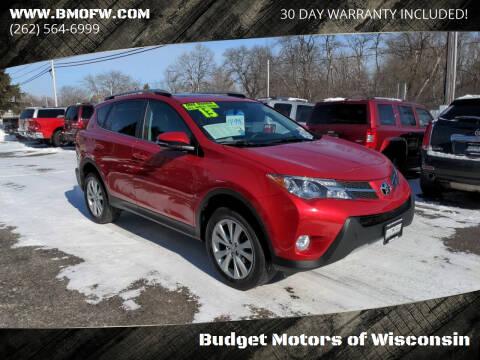 2013 Toyota RAV4 for sale at Budget Motors of Wisconsin in Racine WI