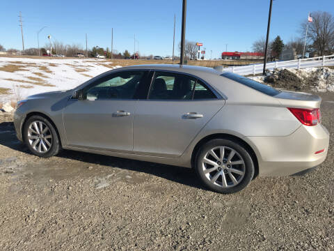2014 Chevrolet Malibu for sale at Lannys Autos in Winterset IA