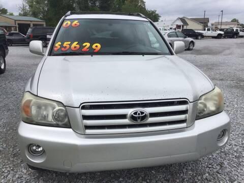 2006 Toyota Highlander for sale at K & E Auto Sales in Ardmore AL
