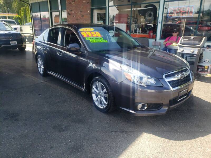 2013 Subaru Legacy for sale at Low Auto Sales in Sedro Woolley WA