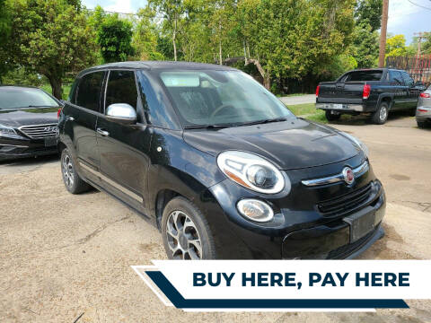2014 FIAT 500L for sale at G&J Car Sales in Houston TX
