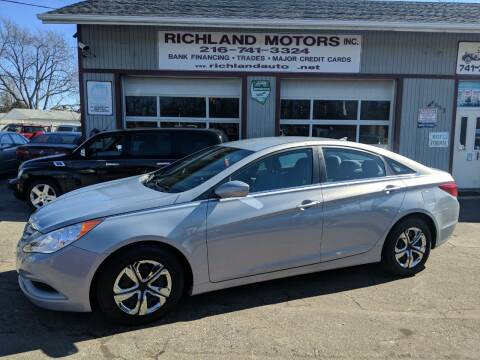 2011 Hyundai Sonata for sale at Richland Motors in Cleveland OH