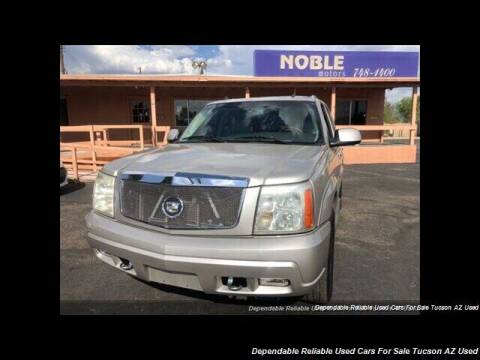 2005 Cadillac Escalade for sale at Noble Motors in Tucson AZ