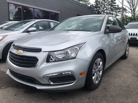 2016 Chevrolet Cruze Limited for sale at Champs Auto Sales in Detroit MI