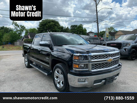 2014 Chevrolet Silverado 1500 for sale at Shawn's Motor Credit in Houston TX