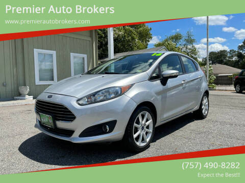 2016 Ford Fiesta for sale at Premier Auto Brokers in Virginia Beach VA