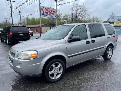2007 Chevrolet Uplander for sale at INTERNATIONAL AUTO SALES LLC in Latrobe PA