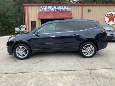 2015 Chevrolet Traverse for sale at Daniel Used Auto Sales in Dallas GA
