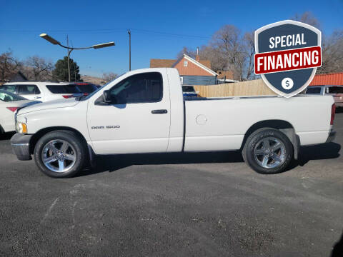 2002 Dodge Ram Pickup 1500 for sale at Truck 'N Auto Brokers in Pocatello ID