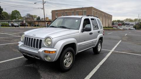 2002 Jeep Liberty for sale at Shah Motors LLC in Paterson NJ