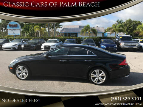 2009 Mercedes-Benz CLS for sale at Classic Cars of Palm Beach in Jupiter FL