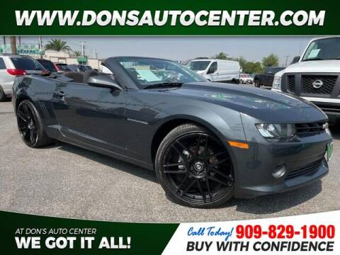 2015 Chevrolet Camaro for sale at Dons Auto Center in Fontana CA