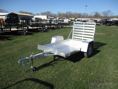 2022 Aluma Aluminum Single Axle Utility 5 for sale at Rondo Truck & Trailer in Sycamore IL