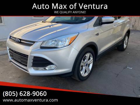 2015 Ford Escape for sale at Auto Max of Ventura - Automax 3 in Ventura CA