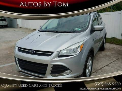 2013 Ford Escape for sale at Autos by Tom in Largo FL