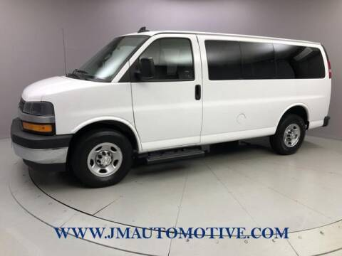 2019 Chevrolet Express Passenger for sale at J & M Automotive in Naugatuck CT