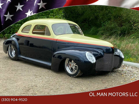 1941 Chevrolet Business Coupe for sale at Ol Man Motors LLC in Louisville OH