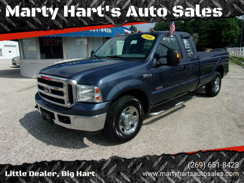 2006 Ford F-250 Super Duty for sale at Marty Hart's Auto Sales in Sturgis MI