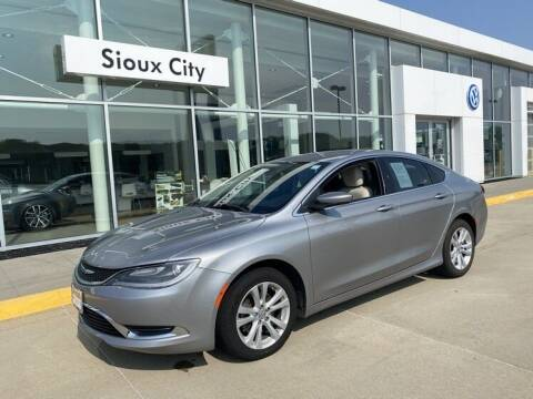 2015 Chrysler 200 for sale at Jensen's Dealerships in Sioux City IA