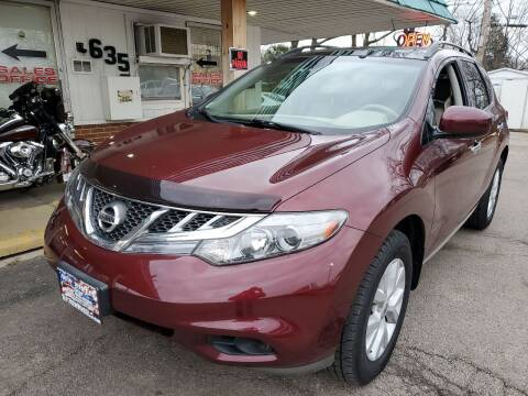 2012 Nissan Murano for sale at New Wheels in Glendale Heights IL