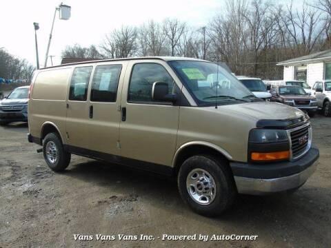 2008 GMC Savana Cargo for sale at Vans Vans Vans INC in Blauvelt NY