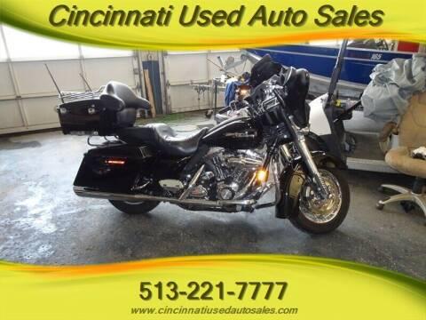 2008 Harley-Davidson Street Glide FLHX for sale at Cincinnati Used Auto Sales in Cincinnati OH