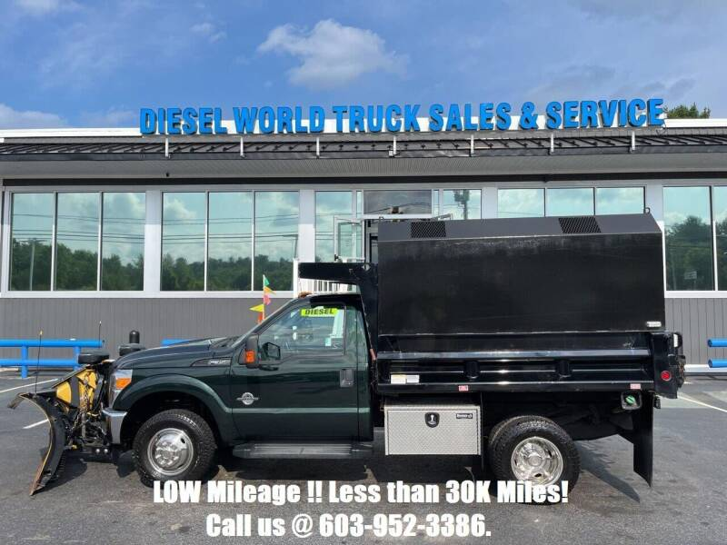2016 Ford F-350 Super Duty for sale at Diesel World Truck Sales - Dump Truck in Plaistow NH