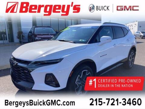 2019 Chevrolet Blazer for sale at Bergey's Buick GMC in Souderton PA