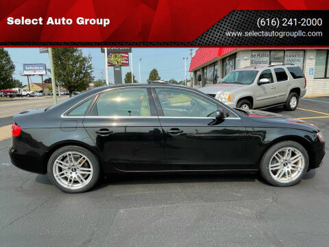 2013 Audi A4 for sale at Select Auto Group in Wyoming MI