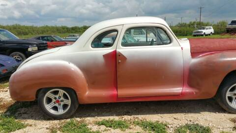 1947 Plymouth Business Coupe for sale at CLASSIC MOTOR SPORTS in Winters TX